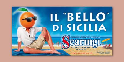 """Poster Scaringi """"Bello"""" composite"""