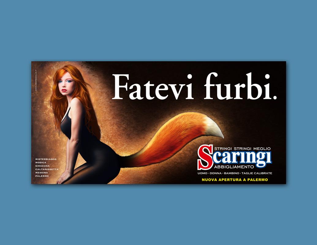 Poster Scaringi Fatevi Furbi